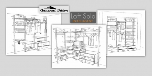 Loft Solo | Gardrob drawing pictures